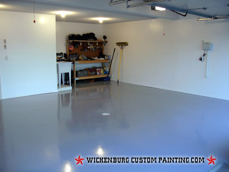 Garage Floor Coating Painting Contractors